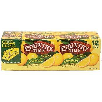 Polar® Country Time Lemonade, 12 oz., 12/PK