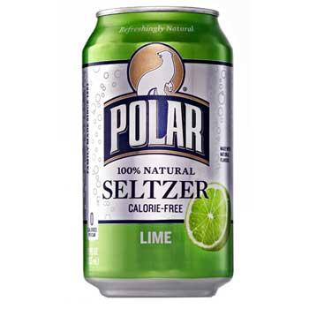 Polar® Lime Seltzer, 12 oz., 12/PK