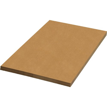 "Corrugated Sheets, 36"" x 72"", Kraft, 5/BD"