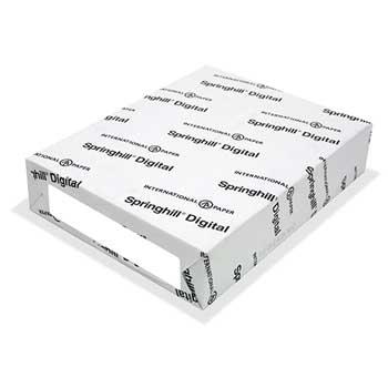"""Springhill® Springhill Vellum Bristol Cover Paper, Green, 67 lb, 11"""" x 17"""", 250/PK"""