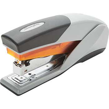 Light Touch Reduced Effort Full Strip Stapler, 20-Sheet Capacity, Orange/Gray