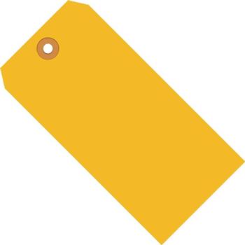 "W.B. Mason Co. Shipping Tags, 13 Pt., 5 1/4"" x 2 5/8"", Fluorescent Orange, 1000/CS"