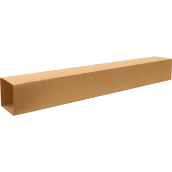 "W.B. Mason Co. Telescoping Inner boxes, 12"" x 12"" x 72"", Kraft, 15/BD"