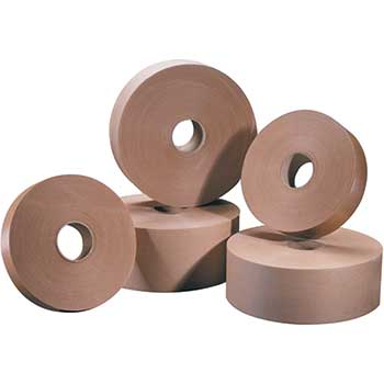 """Tape Logic® #5000 Non-Reinforced Water Activated Tape, 1 1/2"""" x 500', Kraft, 20/CS"""