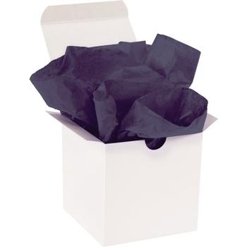 "W.B. Mason Co. Tissue Paper, Gift Grade, 20"" x 30"", Midnight Blue, 480/CS"