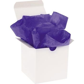 "W.B. Mason Co. Gift Grade Tissue Paper, 15"" x 20"", Parade Blue, 960/CS"