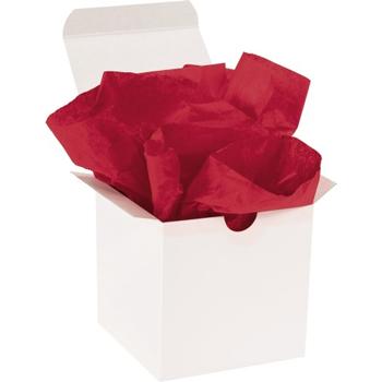 "W.B. Mason Co. Tissue Paper, Gift Grade, 20"" x 30"", Scarlet, 480/CS"