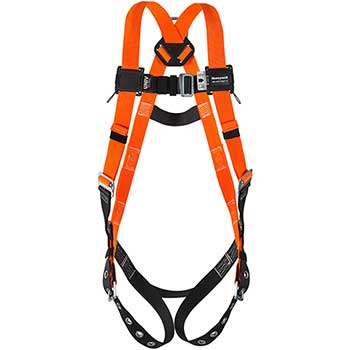 Honeywell Miller® Titan Full-Body Harness with Sliding Back D-Ring, Tongue Buckle Legs, Universal