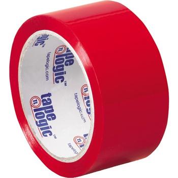 """Carton Sealing Tape, 2.2 Mil, 2"""" x 55 yds., Red, 36/CS"""
