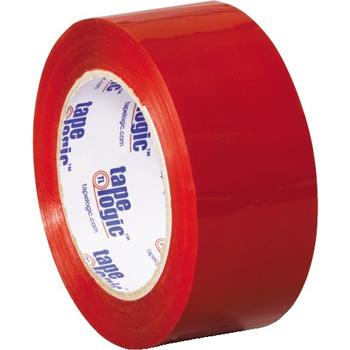 """Carton Sealing Tape, 2.2 Mil, 2"""" x 110 yds., Red, 18/CS"""
