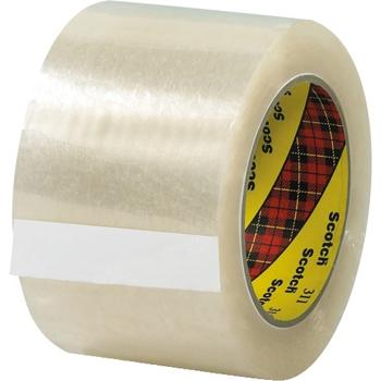 "3M™ 311 Carton Sealing Tape, 2.0 Mil, 3"" x 110 yds., Clear, 6/CS"