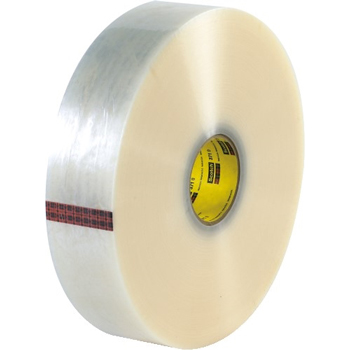 "371 Carton Sealing Tape, 1.9 Mil, 3"" x 1000 yds., Clear, 4/CS"