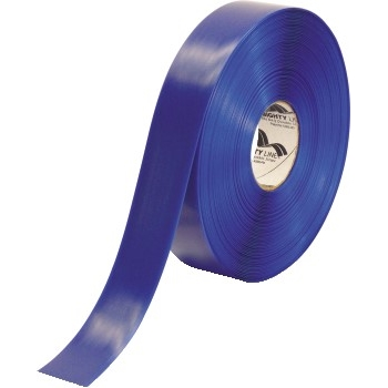 """Mighty Line™ Deluxe Safety Tape, 60 Mil PVC, 2"""" x 100', Blue"""