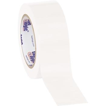 "Tape Logic® Solid Vinyl Safety Tape, 6.0 Mil, 2"" x 36 yds., White, 3/CS"
