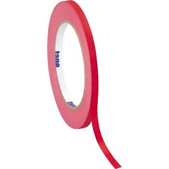 """Tape Logic® Masking Tape, 4.9 Mil, 1/4"""" x 60 yds., Red, 12/CS"""