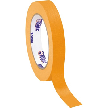 """Tape Logic® Masking Tape, 4.9 Mil, 3/4"""" x 60 yds., Orange, 12/CS"""