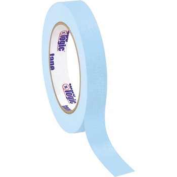"Tape Logic® Masking Tape, 4.9 Mil, 3/4"" x 60 yds., Light Blue, 12/CS"