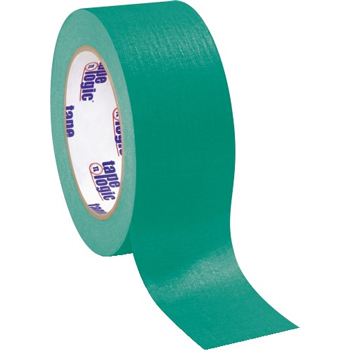 "Tape Logic® Masking Tape, 4.9 Mil, 2"" x 60 yds., Dark Green, 12/CS"