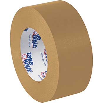 "Tape Logic® #5300 Flatback Tape, 7 Mil, 2"" x 60 yds., Kraft, 6/CS"