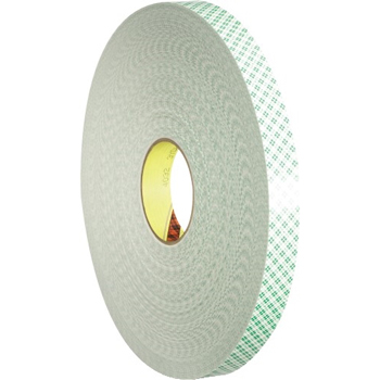 "3M™ 4032 Double Sided Foam Tape, 1"" x 5 yds., 1/32"", Natural, 1/CS"