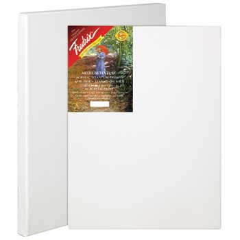 """Fredrix® Red Label Standard Stretched Canvas, 8"""" x 10"""", 6/CT"""