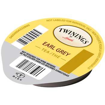 TWININGS® Tassimo Professional T-Discs, Earl Grey Tea, 16/PK