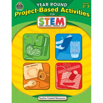 Teacher Created Resources Year Round Project Based Activities for STEM, 2nd & 3rd