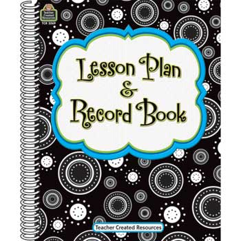 """Teacher Created Resources Crazy Circles Lesson Plan & Record Book, 8 1/2"""" x 11"""""""