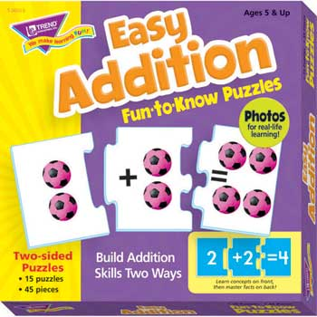 Fun-to-Know Puzzles Easy Addition