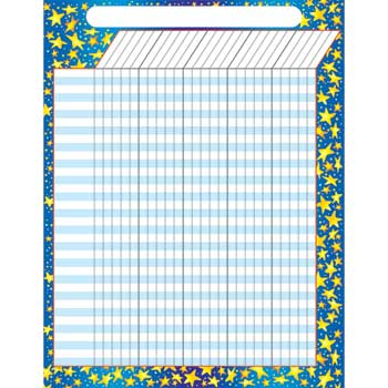 """TREND® Large Incentive Charts, Star Brights, 17"""" x 22"""""""