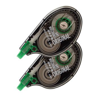 "Tombow® MONO Correction Tape Original, Single Line, 1/6"" x 394"" (4mm x 10m), White, 2/PK"