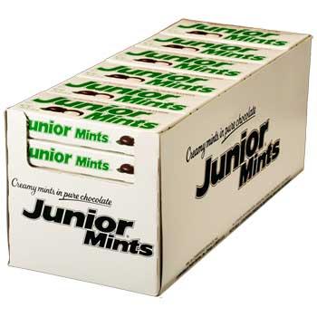 Chocolate Mints, 1.6 oz., 36/BX, 4 BX/CS