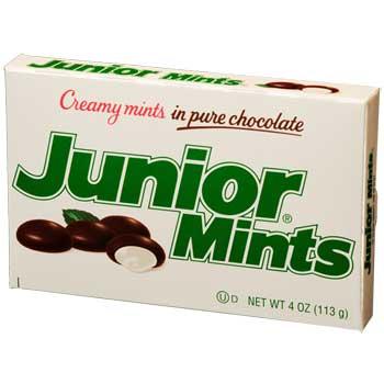 Junior Mints® Chocolate Mints, 4 oz., 12/CS