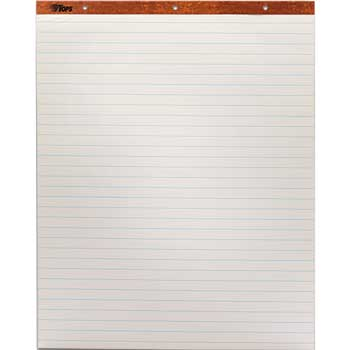 """TOPS™ Easel Pad, 1"""" Ruled, 27"""" x 34"""", 2/CT"""