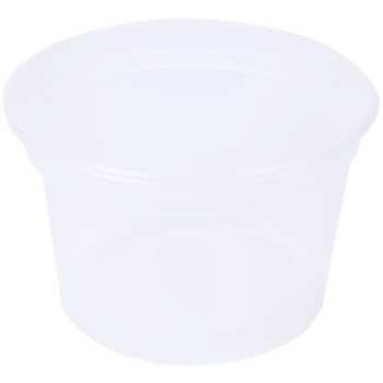 Chef's Supply Deli Container, Round, 16 oz., Clear, 480/CT