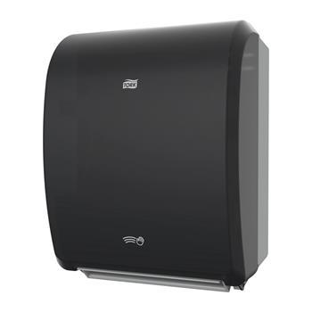 "Tork® H71 Electronic Hand Towel Roll Dispenser, 9.3"" x 12.3"" x 16"", Black"