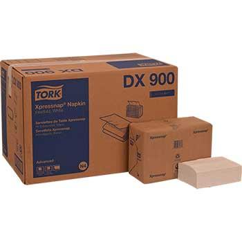 """Advanced Xpressnap® Dispenser Napkin, Interfold, 1-Ply, 8.5"""" L x 13.0"""" W, White, 500/PK, 12 PK/CT"""