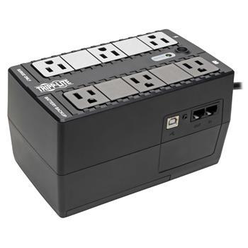 Tripp Lite INTERNET350U Internet Office 350VA UPS 120V with USB, RJ11, 6 Outlet