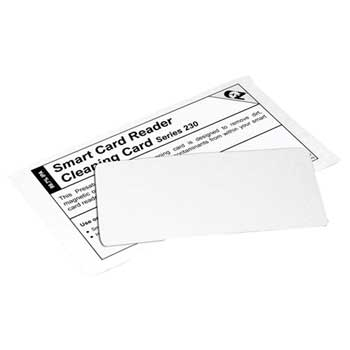 "Thermal Roll Flat Cleaning Card, 2.1"" x 3.345', 50/BX"