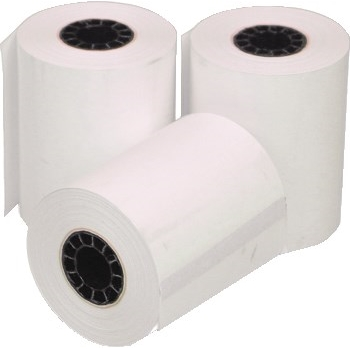 """Alliance Imaging Products™ Adding Machine/Cash Register Thermal Paper Rolls, 2 1/4"""" x 70', White, 50/CT"""
