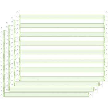 "4-Part Carbonless Computer Paper, 14 7/8"" x 11"", 900/CT"
