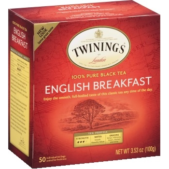 Tea Bags, English Breakfast, 50/BX