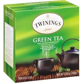 Tea Bags, Green Tea, 50/BX