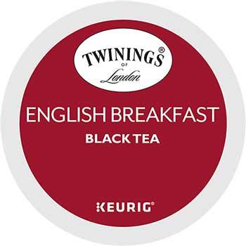 K-Cup® Pods, Tea, English Breakfast, 24/BX