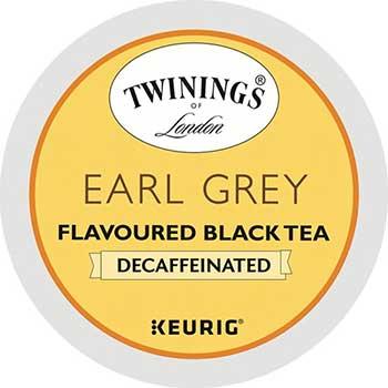 K-Cup® Pods, Tea, Earl Grey Decaf, 24/BX