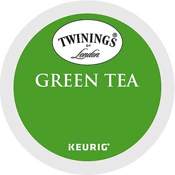 TWININGS® K-Cup® Pods, Tea, Green, 24/BX