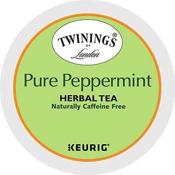K-Cup® Pods, Tea, Peppermint, 24/BX