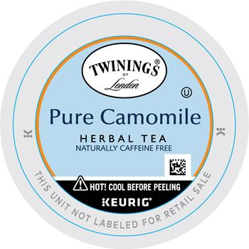 TWININGS® K-Cup® Pods, Tea, Camomile, 24/BX