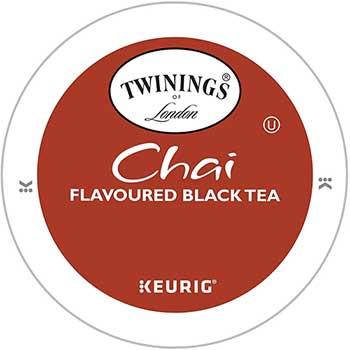 K-Cup® Pods, Tea, Chai, 24/BX