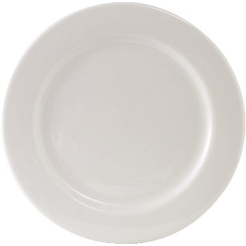 "Alaska China, Plate, Pure White, 12"", 12/CS"